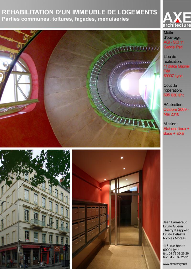 Axe architecture lyon gabriel p ri for Architecture lyon
